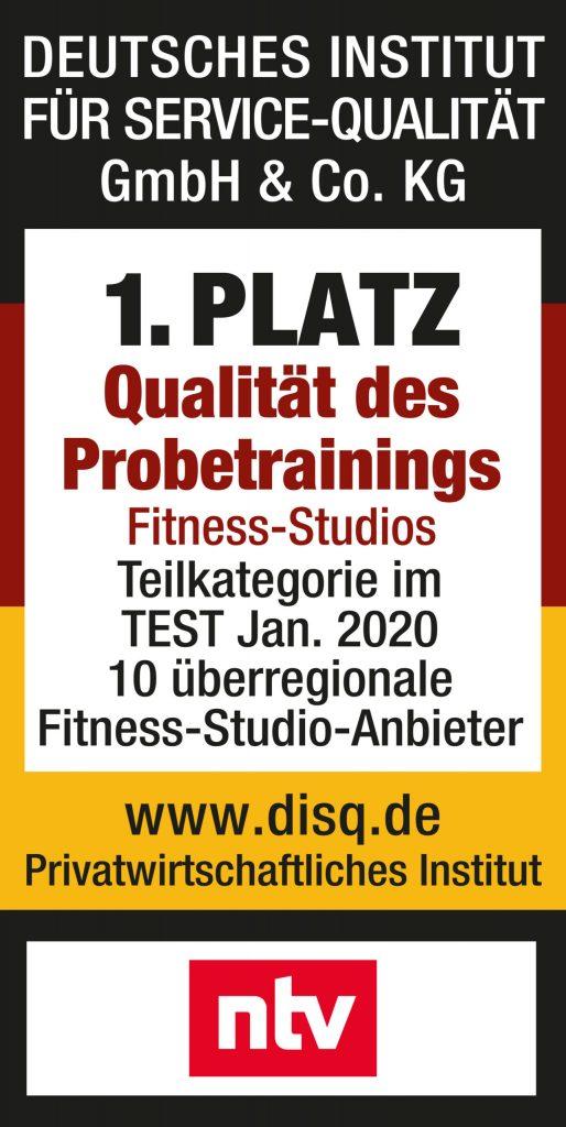 Fitnessloft I Testsieger in der Qualität des Probetrainings