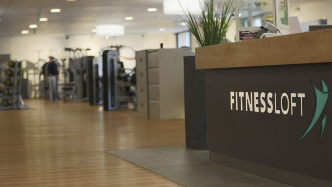 Empfangstresen FitnessLOFT Cottbus